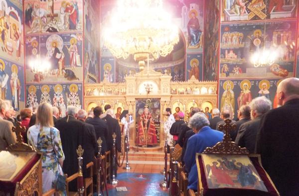 Gottesdienst zum 50. Geburtstag der Griechisch-Orthodoxen Metropolie in Deutschland.
