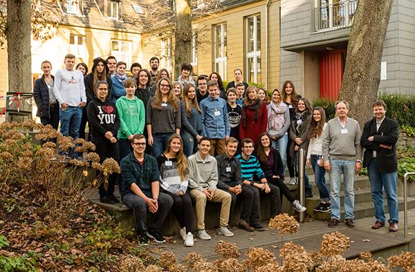 Informierten sich über das Studium der Evangelischen Theologie: Schülerinnen und Schüler aus der gesamten rheinischen Kirche.