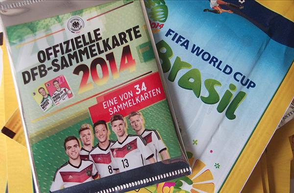 Bisher gab es nur das Sammelbilderfieber, jetzt ist die Fußball-WM 2014 eröffnet, die Spiele angepfiffen.