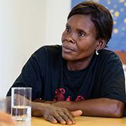Keine Angst: Béatrice Ntalanga.