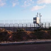 Entlang der Grenzanlagen zwischen Nador und Melilla.