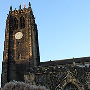 Münsterkirche in Halifax.