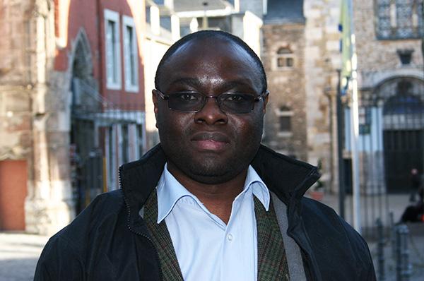 Emmanuel Ndahayo, Doktorand in Siegen, in der Politik im Kreis Düren engagiert, stammt aus Ruanda.