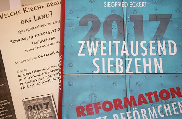 Das Reformationsjubiläum ist Anlass für Siegfried Eckerts Streitschrift.