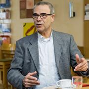 Hartfried Toennessen ist Geschäftsführer des evangelischen Frauenhauses Duisburg.