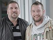 Olaf Hanweg (l.) und Andreas Grimm