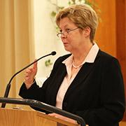 Theologischer Ausblick: Landeskirchenrätin Christine Busch.