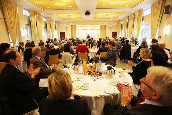 Im Mutterhaus in Kaiserswerth gab es das theologische Symposium zur Verabschiedung von Landeskirchenrätin Christine Busch.