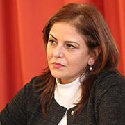 Dr. Khouloud Daibes ist Botschafterin und Leiterin der Palästinensischen Mission in Berlin.