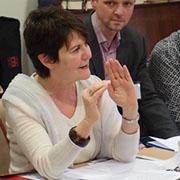 Liliane Apotheker,  stellvertretende Präsidentin des Internationalen Rates der Juden und Christen.