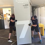 Aufbau vollendet: Am Samstag ist Eröffnung der Weltausstellung Reformation und damit auch der Ausstellung über die Barmer Erklärung.