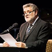 Vortrag vom argentinischen Rabbiner Abraham Skorka.