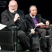 Kardinal Reinhard Marx und Bischof  Munib Younan