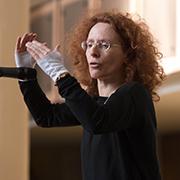 Kantorin Karin Freist-Wissing hat die Matthäuspassion schon einmal vor 20 Jahren in der Kreuzkirche aufgeführt.