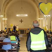 Ökumenisches Friedensgebt in St. Marien.