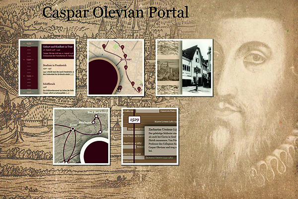 Das Caspar Olevian Portal bietet neben vielen digitalisierten Originaldokumenten auch einen virtuellen Rundgang durch Trier.