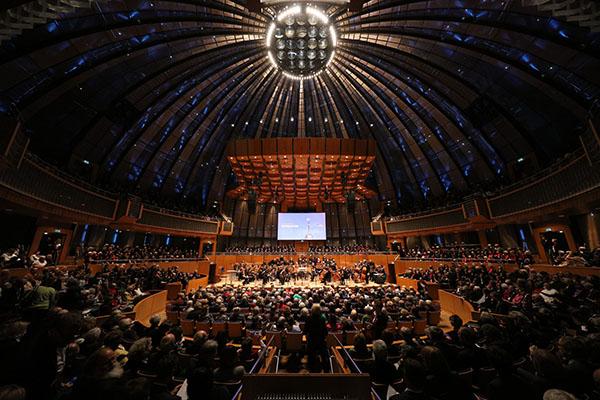 Reformationsfest 2017 in der Düsseldorfer Tonhalle.