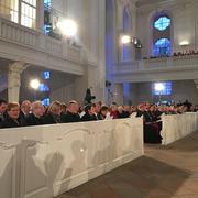 Vertreterinnen und Vertreter aus Politik und Kirche nahmen an den Festakt in der Ludwigskirche teil.
