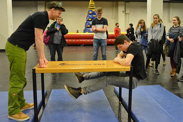 Respekt! Challenge für Jugendliche beim Missionale-Treffen in Köln.