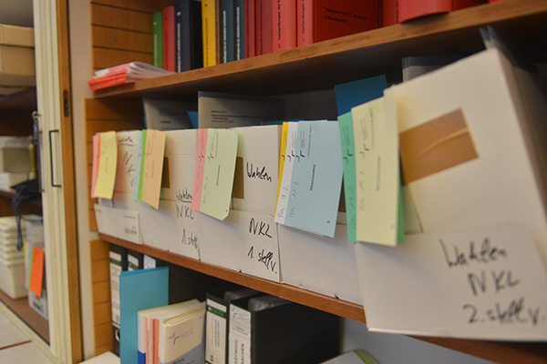 Organisatorisch fertig vorbereitet sind die Wahlen, die die Landessynode 2017 zu treffen hat.