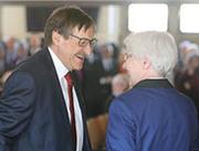 Klaus Eberl und Irmgard Schwaetzer