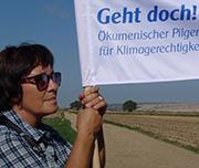 Der Klimapilgerweg erreicht das Rheinische Braunkohlerevier.