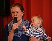 Hanne Lamparter mit Sohn Simon