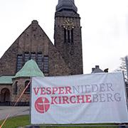Die Christuskirche in Velbert wird für 15 Tage zur Vesperkirche.