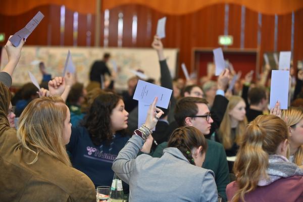 Partizipation von jungen Menschen - das war ein großes Thema der Jugendsynode 2019.