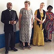 Begegnung mIt Bischof Kakule Molo