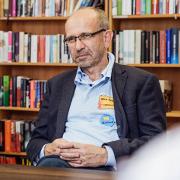 Präses Manfred Rekowski beim Besuch in