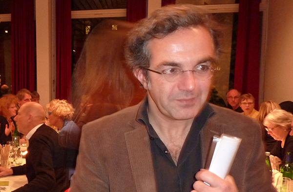 Navid Kermani beim Professorenempfang von ESG und KHG in Köln.