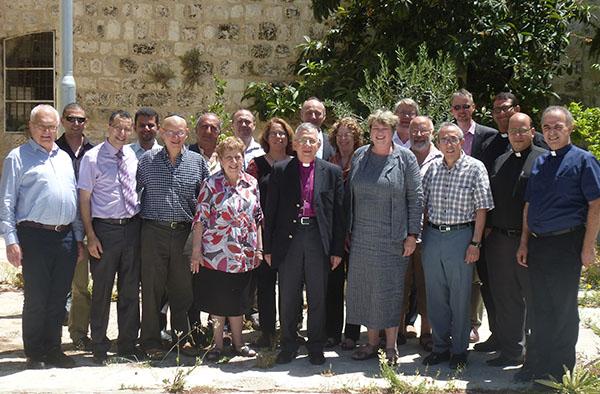 Die Teilnehmenden des Workshops Land und Wasser.