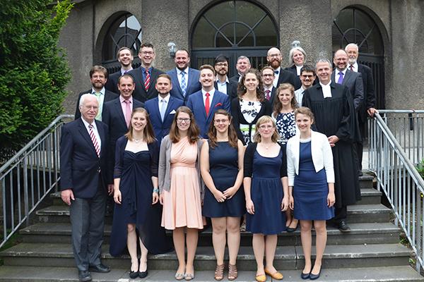 Abschlussjahrgang 2017 des Johanneums