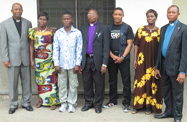Die kongolesische Gästedelegation, die in Mettmann erwartet wurde, aber kein Visum erhielt.