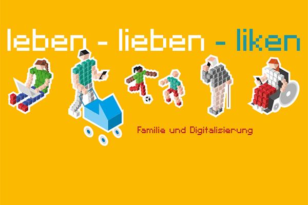 Screenshot des Covers der Broschüre zum Thema Familie und Digitalisierung.