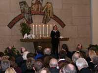 Begrüßung durch die Vorsitzende der Gemeinde Neuenahr