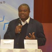 Bischof Dr. Alex Gehaz Malasusa erzählte aus seinem Heimatland Tansania.