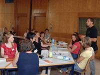 Die Veranstaltungen im EFWI sind meist ausgebucht, viele sogar überbucht.