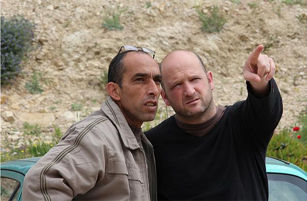 Yosry Alsallamin (l.) und Itamar Feigenbaum, die 'Combatants for Peace', erhielten den Preis für ihr Friedensengagement.