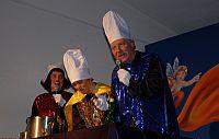 Die Königinnen und der König der Sitzung.