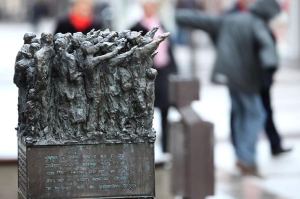 Stele in Wuppertal-Barmen
