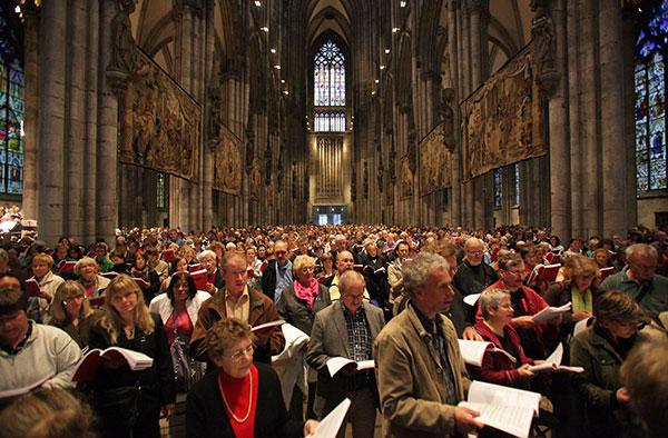 Treffen des Chorverbands, © Robert Boecker