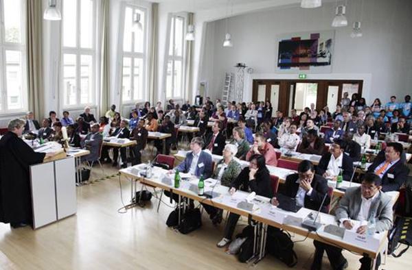 Vollversammlung der Vereinten Evangelischen Mission 2014 in Wuppertal.