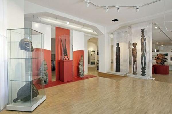 Blick in das neue 'Museum auf der Hardt' in Wuppertal.