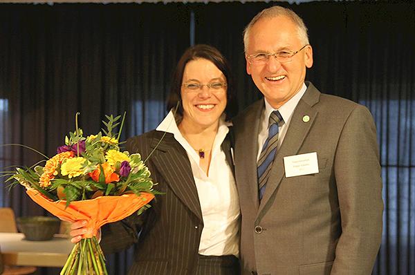 Jutta Walber ist zur Superintendentin des Kirchenkreises Obere Nahe gewählt, wird Nachfolerin von Edgar Schäfer.