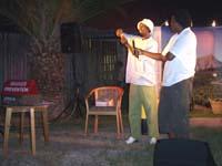 Theater ist eine der kreativen Aktivitäten in Südafrika und Namibia, um die Aufklärung über HIV und Aids zu verbessern.
