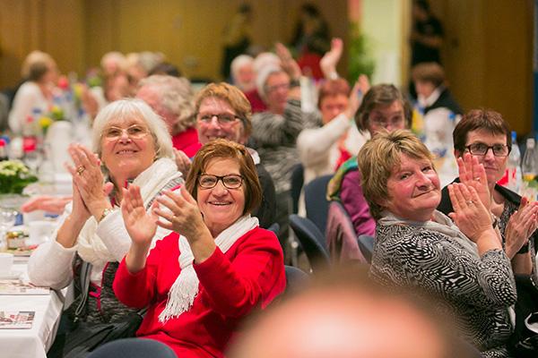 Gesichter der Willkommenskultur beim Dankeschöntag in Bonn.