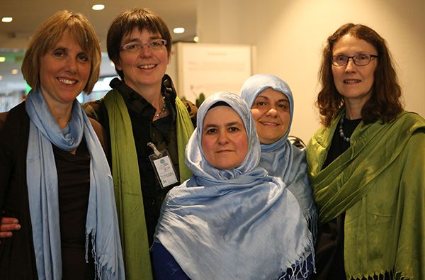 Frauem beim Dialogtag 2014 in Krefeld