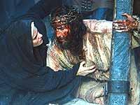 Ich bin doch schon da: Jesus (Caviezel) und Mutter Maria (Maia Morgenstern).